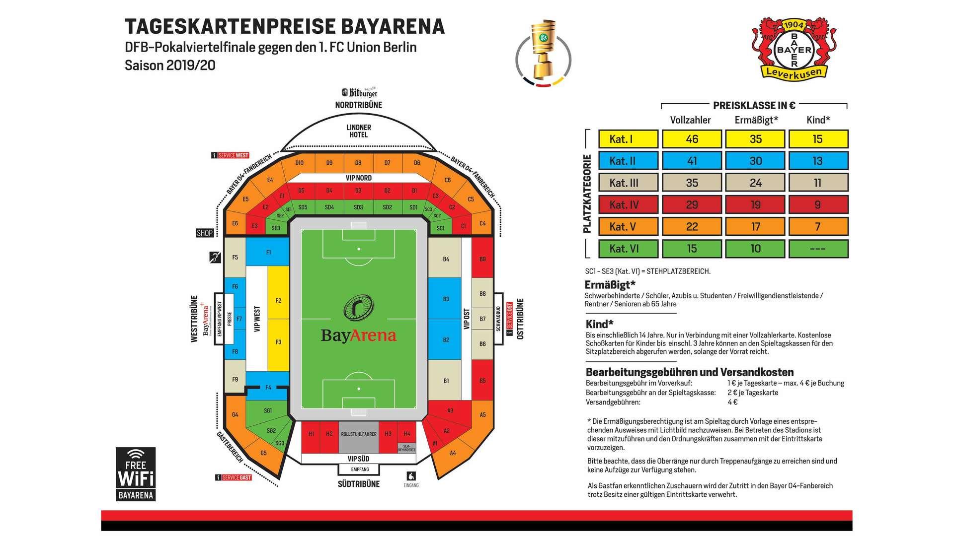 Bayer04.De Tickets